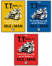 METAL SIGN WALL PLAQUE MANX GRAND PRIX TT RACES ISLE OF MAN Retro Vintage poster
