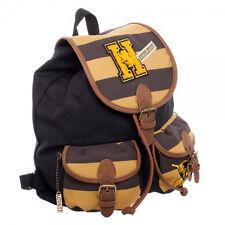 Official Harry Potter Hufflepuff Knapsack Bag Backpack