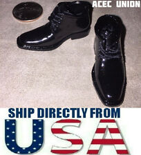 "1/6 Chukka Boots Dress Shoes For 12"" Hot Toys Phicen Male Figure - U.S.A. SELLER"