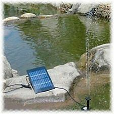 Home Pond Fish Tank 7V 1.12W Solar Water Panel Kit Fountain Pump GY-D-001-NS