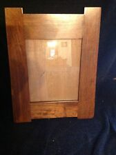 Solid Cherry Mission Style picture frame 8x10 mission frame tapered sides