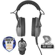 New!! Detector Pro Gray Ghost Deep Woods Metal Detector Headphones Diggers Den