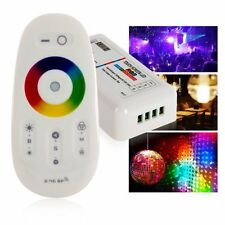 New 12/24V Wireless RF 2.4G Touch Panel Remote RGB Controller 18A LED Strip H60