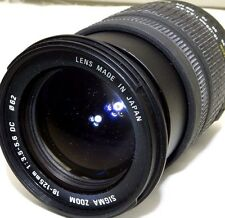 Sigma AF 18-125mm f3.5-5.6 DC Lens 4/3 Mount Evolt Olympus E500 E620 Four Thirds