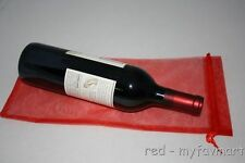 """10 Red Wine Organza Pouch Gift Bag 6""""x14"""""""