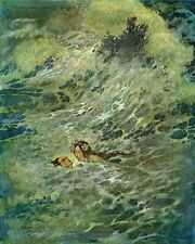 EDMUND DULAC THE LITTLE MERMAID II 8X10 FINE ART PRINT 5526
