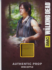 The walking dead saison 4/1 M03 prop carte bouteille vin (a)