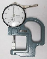 """Mitutoyo 7316 Dial Thickness Gauge, 0-.4"""""""