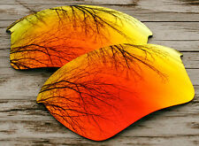 Fire Red Mirrored Custom Replacement Sunglass Lenses for Oakley Bottle Rocket