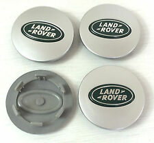 Land Rover Range Rover Alloy Wheel Centre Caps 63mmGreen/Silver, Discovery2,3,4