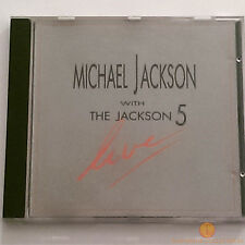 Michael Jackson With The Jackson 5 Live (CD 1988) Motown WD72641