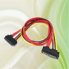 maschio a femmina 7+15 Pin Serial ATA SATA Dati alimentazione combo
