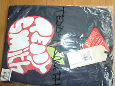 TEDDY SMITH T-Shirt APPLE Dark Navy L Large 100% cotton