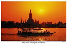 postcard post card THAILAND BANGKOK TEMPLE OF DAWN WAT ARUN #79