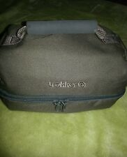 Top quality trakker brand fishing/ walkers / adventures day bag. Green washable.