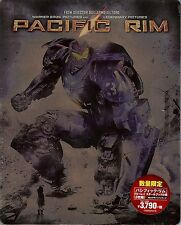 Pacific Rim 3-Disc Limited Edition SteelBook Blu-ray (Region Free Japan Import)