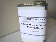 Silmar 41 Clear Polyester Casting Resin, 1 quart