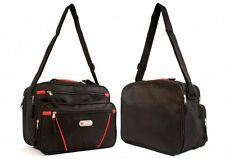 Womens Girls Ladies Holdall Travel Weekend Gym Sports Bag Hand Luggage Black