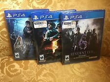 Resident Evil 4 5 6 - Ultimate Bundle Lot - PlayStation 4 - PS4 - NEW & SEALED
