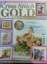 Cross Stitch Gold March April 2017 Darling Ducklings Stitching FREE SHIPPING sb