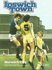 Football Programme - Ipswich Town v Chelsea - Div 1 - 30/12/1978
