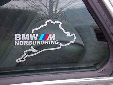 2 x NÜRBURGRING BMW M-tec Performance Nürburgring Aufkleber E60 E90 E30 E36 E46
