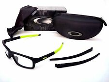 New OAKLEY OX8037 0952 Oph CROSSLINK PITCH 52mm Sat Black RetBu Eyeglasses Frame