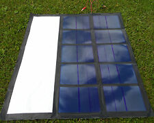Portable Foldable 60W Solar Panel Charging System 60 Watt flexible NEW 10 Cell