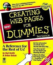Creating Web Pages For Dummies 3rd Edition CD-ROM Paperback Bud Smith 1998