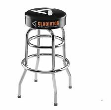 Gladiator Workbench Stool Leg Construction For Stability Comfortable Padded