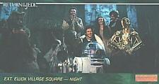 STAR WARS RETURN OF THE JEDI WIDEVISION SET (144)