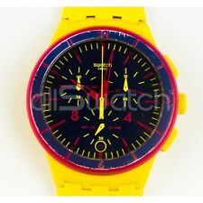 Swatch Chrono - SUSJ400 - Glow Loom - Leggermente Usato