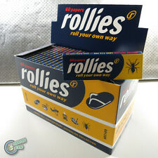 100 x 60 ROLLIES Tobacco Cigarette Rolling Roller Filter Paper Papers Cut Corner