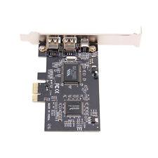 PCI Express x1 PCI-E FireWire 1394a-2000 IEEE1394-1995 Controller Card 3 Ports