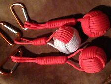 CHOOSE 1 ONE Monkey Fist Boat Golf Volleyball Soccer Floating key-chain