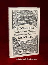 MONARCHIA OF PARACELSUS Ouroboros Press, Alchemy, Magick, Limited Edition
