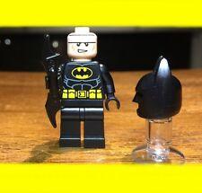 LEGO MOVIE BATMAN GENUINE AUTHENTIC MINIFIGURE SET# PRES KIT TYPE II COWL RARE