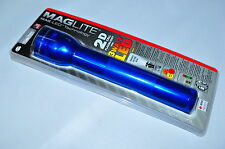 Maglite® ST2D116 LED FLASH LIGHT 2 CELL D  Made in USA - BLUE- NEW IN PACKAGE