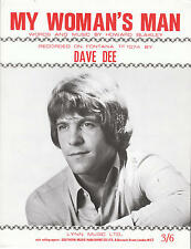 Ma FEMME HOMME-Dave DEE - 1970 Partitions