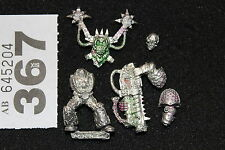 Games Workshop WARHAMMER 40k Chaos Space Marines del Rumore Figura Metallo Slaanesh fuori catalogo