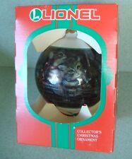Lionel collectible glass ornament #700 E 'The Scale Hudson'