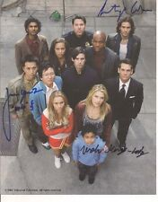 HEROES TV Autograph 8X10 Picture- 3 Signatures- Ando/Isaac/Micah (EBAU-830)