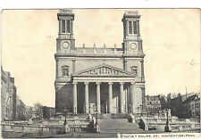 75 - cpa - PARIS - Eglise Saint Vincent de Paul