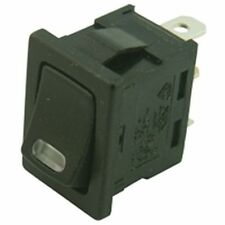 Miniature Rectangular Rocker Switch with LED Indicator