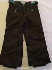 Kid Snow / Ski Pants Size 4/5 Cherokee Brown And Teal