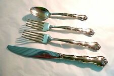 """GORHAM STERLING SILVER 4 PIECE PLACE SETTING """"RONDO"""" PATTERN  **1951**"""