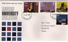 STAMPS. ROYAL MAIL FDC – MODERN UNIVERSITY BUILDINGS – 22nd Sept 1971