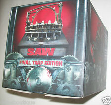 FINAL TRAP  Saw 1-7 Saga  Blu-Ray only replica numbered edition without DVD.