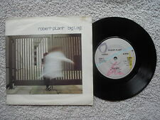 "ROBERT PLANT BIG LOG ESPARANZA RECORDS UK 7"" VINYL SINGLE in PICTURE SLEEVE"