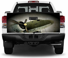 Airplane Old Truck Tailgate Vinyl Graphic Decal Sticker Wrap
